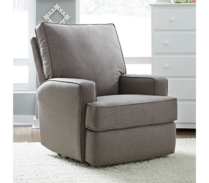 Best Chairs Story Time Kersey Swivel Glider Recliner - Custom Design Your Own Color