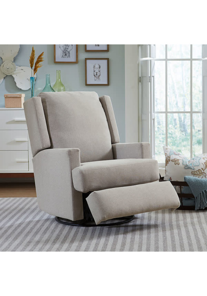 Best Chairs Story Time Ainsley Swivel Glider Recliner - Custom Design Your Own Color