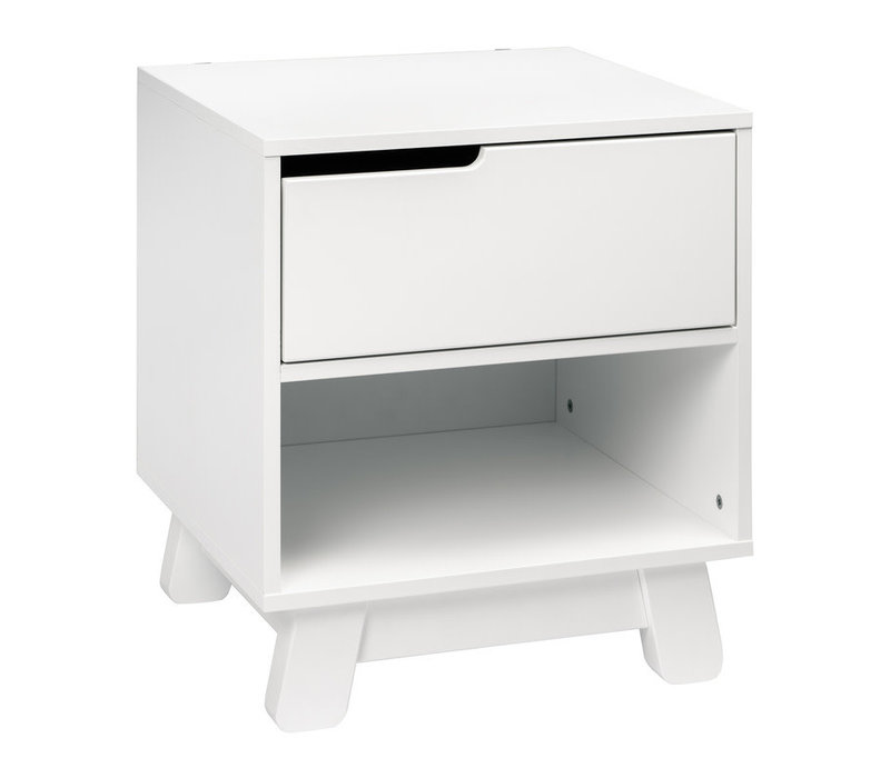 Baby Letto Hudson Night Stand In White
