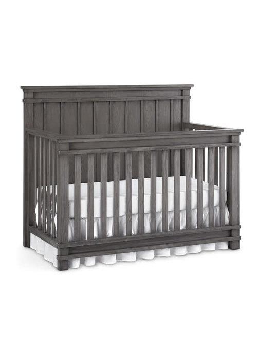 Dolce Babi Dolce Babi Bocca Convertible Crib In Marina Grey
