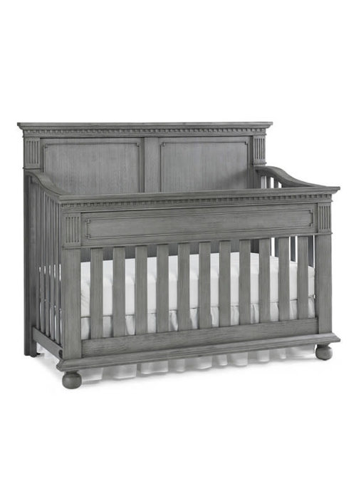 Dolce Babi Dolce Babi Naples Full Panel Convertible Crib In Nantucket Grey