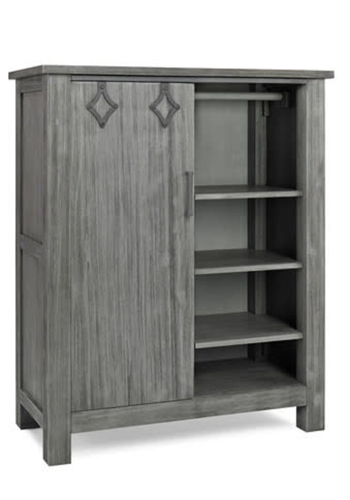 Dolce Babi Lucca Chifforobe In Weathered Grey