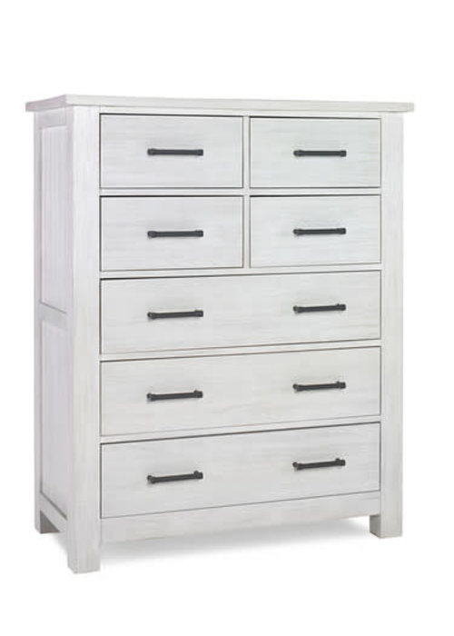 Dolce Babi Dolce Babi Lucca 7 Drawer Chest -  In Sea Shell White