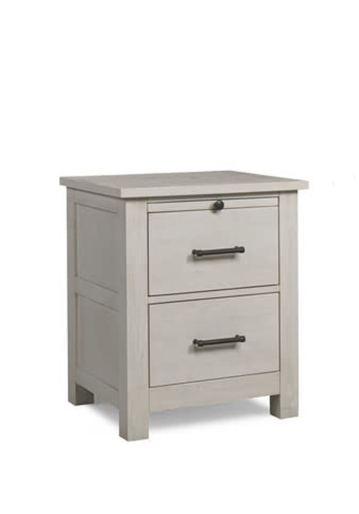 Dolce Babi Lucca Nightstand -  In Sea Shell White
