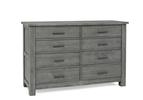 Dolce Babi Dolce Babi Lucca 8 Drawer Dresser In Weathered Grey