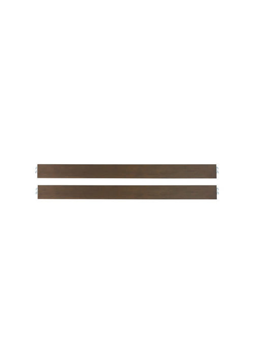 Dolce Babi Dolce Babi Lucca Universal Bed Rail In Weathered Brown