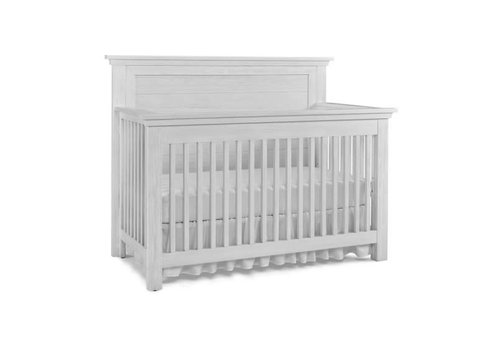 Dolce Babi Dolce Babi Lucca Crib Flat Top Full Panel In Sea Shell White