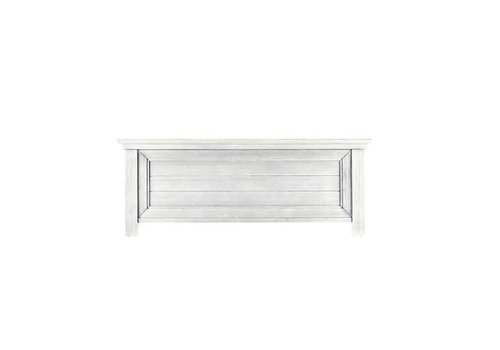 Dolce Babi Dolce Babi Lucca Low Profile Footboard In Sea Shell White
