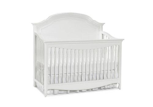 Dolce Babi Dolce Babi Alessia Full Panel Convertible Crib In Bright White