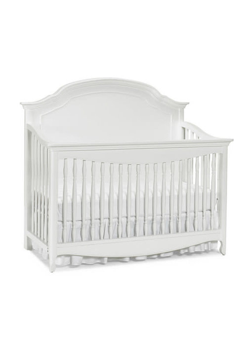Dolce Babi Dolce Babi Alessia Full Panel Convertible Crib In Bright White