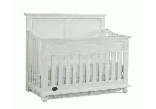 Dolce Babi Dolce Babi Naples Full Panel Convertible Crib In Snow White