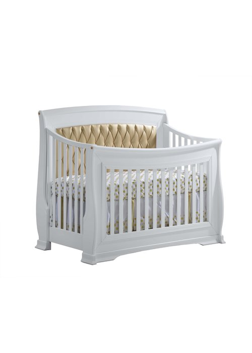 Natart Natart Bella-Gold 4-in-1 Convertible Crib  (w/out rails)