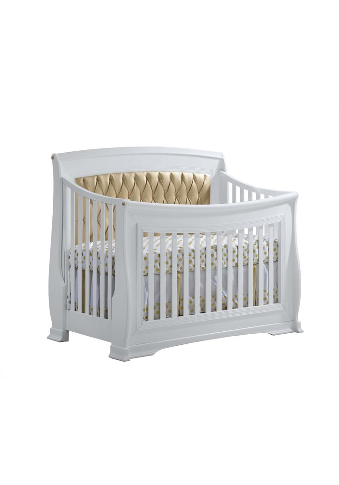 Natart Bella-Gold 4-in-1 Convertible Crib  (w/out rails)