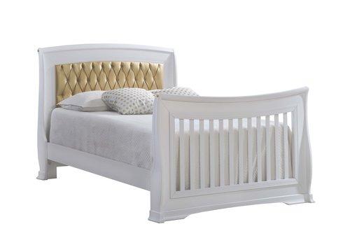 Natart Natart Bella Gold Double Bed 54''  (w/rails)