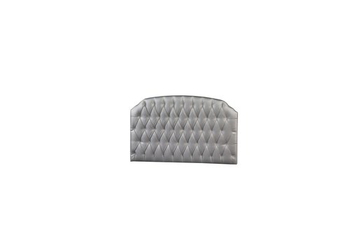 Natart Natart Allegra Tufted Panel In Silver