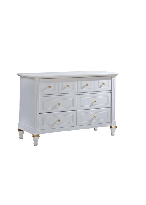 Natart Natart Belmont Gold Double Dresser