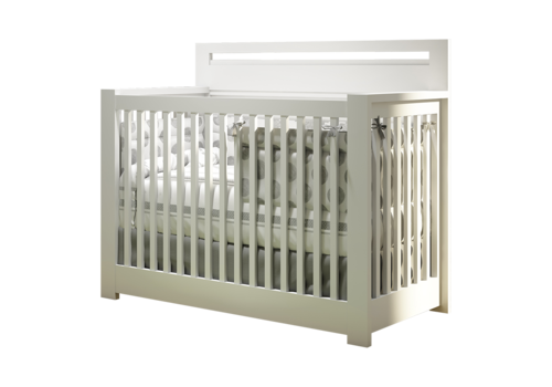 Nest Juvenile Nest Juvenile Milano 4 In 1 Convertible Crib In White