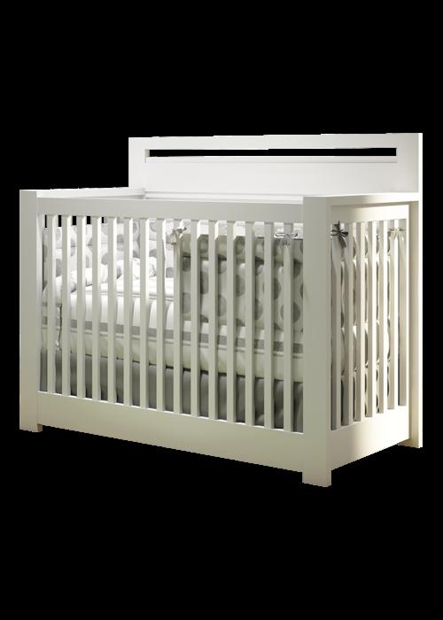 Nest Juvenile Nest Juvenile Milano 4 In 1 Convertible Crib In White
