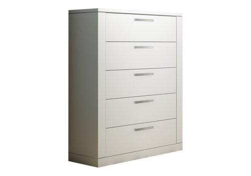 Nest Juvenile Nest Juvenile Milano 5 Drawer Dresser In White
