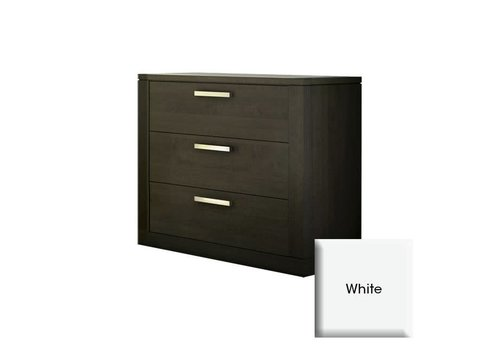 Nest Juvenile Nest Juvenile Milano 3 Drawer Dresser In White