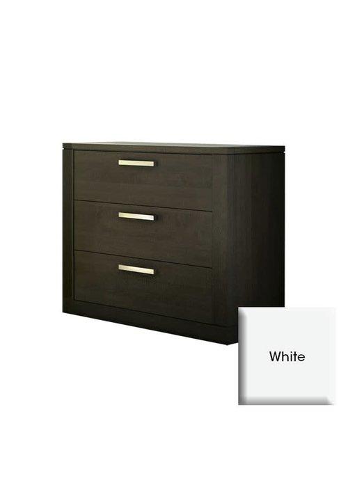 Nest Juvenile Nest Juvenile Milano 3 Drawer Dresser In White
