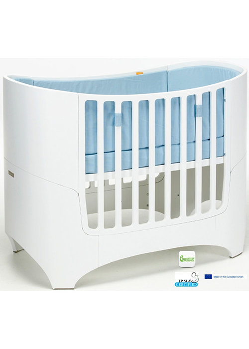 Tulip Tulip Leander Crib In White Without Mattress And Sheets