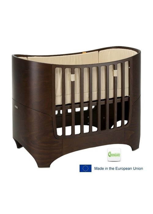 Tulip Tulip Leander Crib In Walnut Without Mattress And Sheets