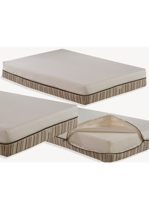 Essentia Essentia Baby Mattress I.Q with incorporated quilted zip-off waterproof cover