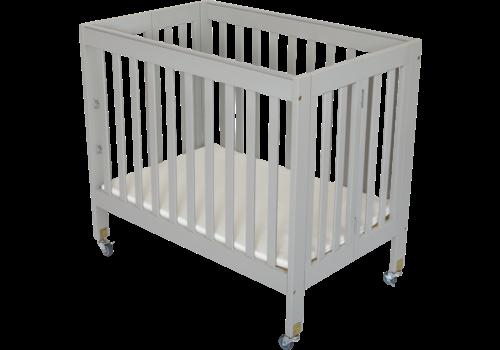 Fizzy Baby Fizzy Baby Modern Mini Porta Crib In Grey- 3 Level