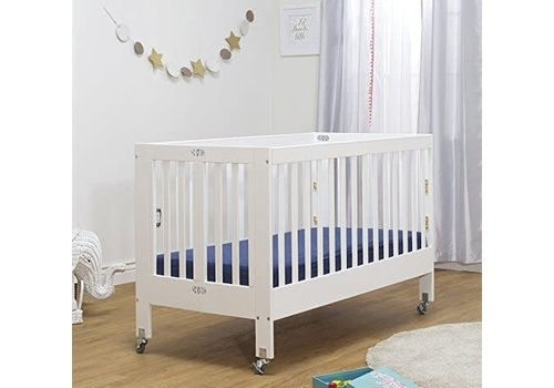 Orbelle Orbelle Roxy Full Size Folding Crib In White