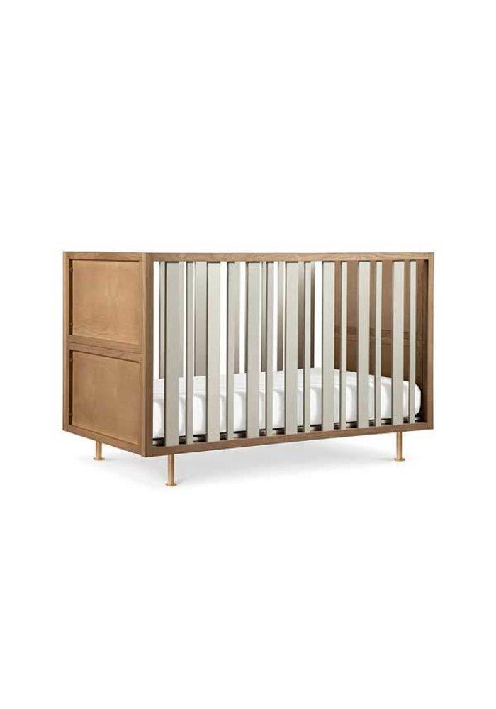 Nursery Works Novella Crib In Ash/Ivory Finish
