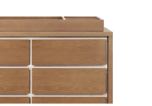 Nursery Works Nursery Works Novella Universal Wide Removable Changing Tray in Stained Ash