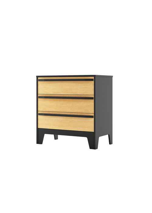 Dutailier Dutailier Caramel Collection 3 Drawer Dresser-15-03-15
