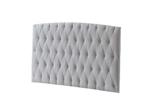 Natart Natart Allegra Tufted Panel In Linen Gray