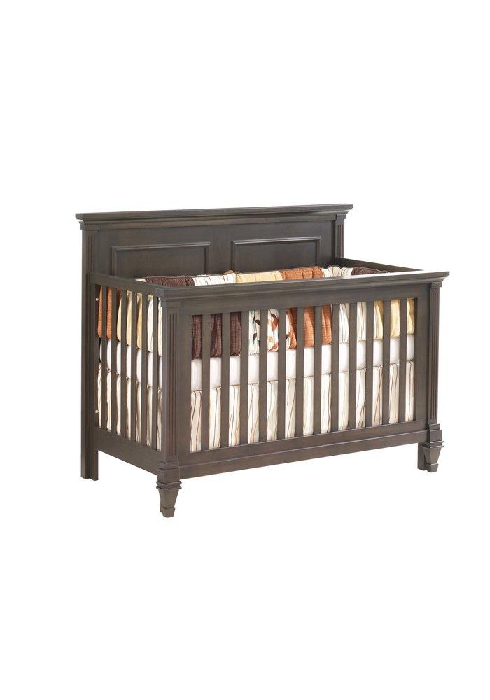 Natart Belmont 4 In 1 Convertible Crib In Grigio
