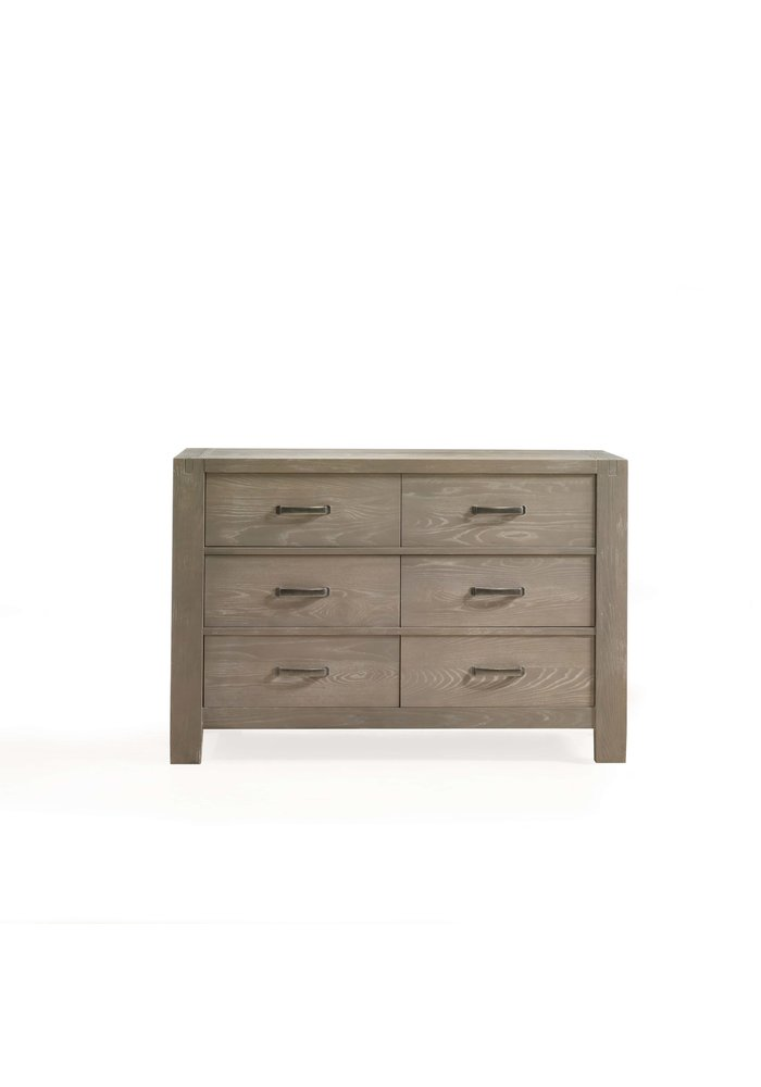 Natart Rustico Double Dresser In Sugar Cane