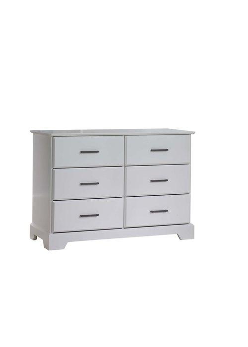 Natart Natart Taylor Double Dresser In White