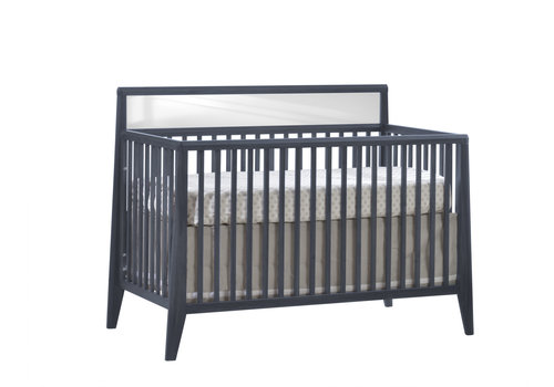 Nest Juvenile Nest Juvenile Flexx Convertible Crib In Graphite
