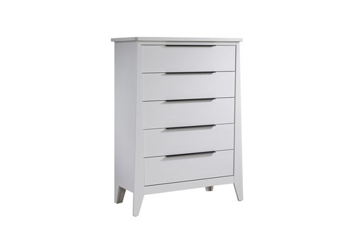 Nest Juvenile Nest Juvenile Flexx 5 Drawer Dresser In All White