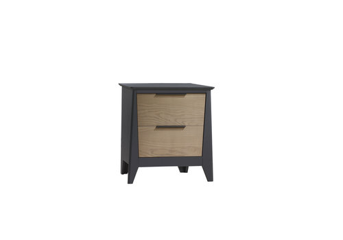 Nest Juvenile Nest Juvenile Flexx Night Stand In Graphite/Natural Wheat