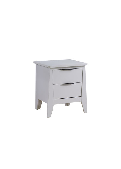 Nest Juvenile Nest Juvenile Flexx Night Stand In All White