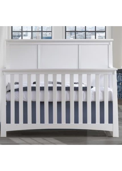 Nest Juvenile Nest Juvenile Bruges Collection Convertible Crib In White