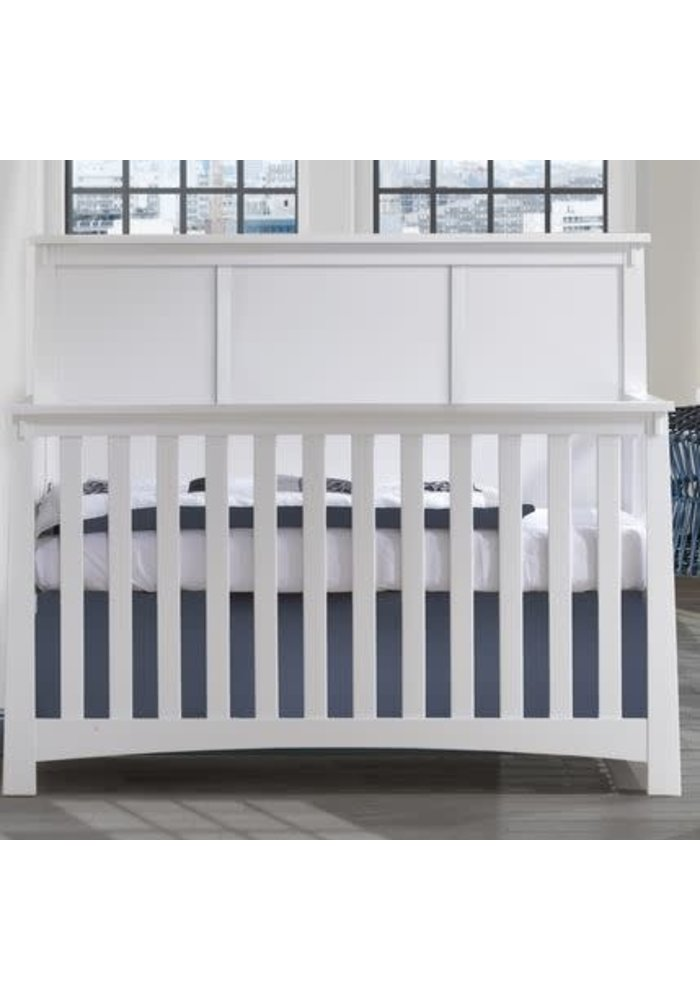 Nest Juvenile Bruges Collection Convertible Crib In White