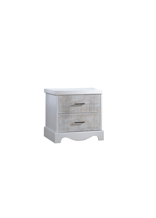 Nest Juvenile Nest Juvenile Matisse Collection Night Stand In White/White Bark