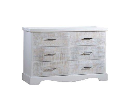 Nest Juvenile Nest Juvenile Matisse Collection Double Dresser In White/White Bark