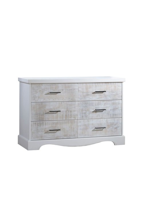 Nest Juvenile Nest Juvenile Matisse Collection Double Dresser In White/White Bark