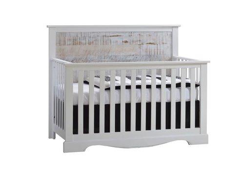 Nest Juvenile Nest Juvenile Matisse Collection Convertible Crib In White/White Bark