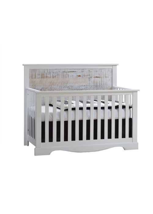 Nest Juvenile Nest Juvenile Matisse Collection Convertible Crib In White/White Bark