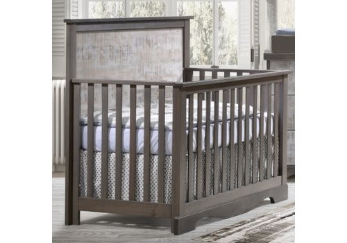 Nest Juvenile Nest Juvenile Matisse Collection Convertible Crib In Grigio/ White bark