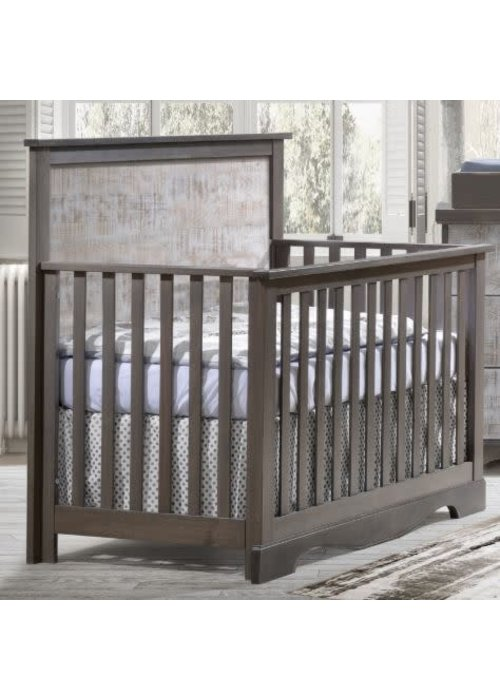 Nest Juvenile Nest Juvenile Matisse Collection Convertible Crib In Grigio/ White bark